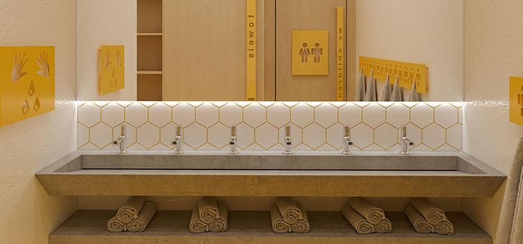 幼儿园卫生间盥洗室设计